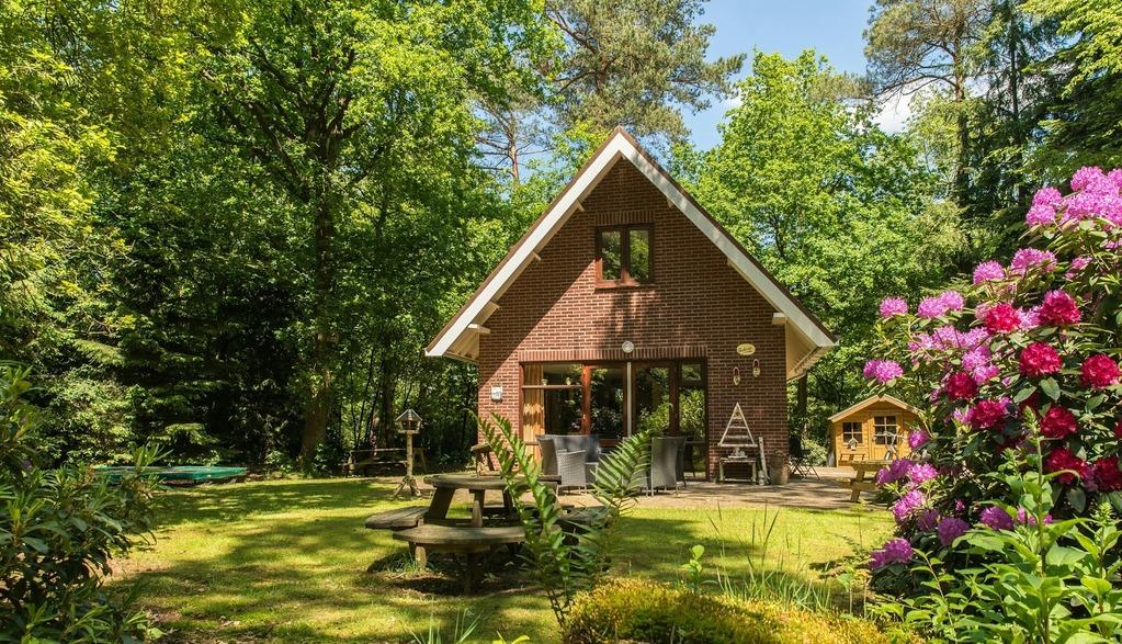 3 keer een vakantiehuisje in het bos hoi veluwe