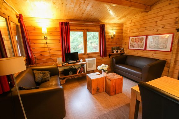 Fins huisje in het bos nabij Epe voor max. 4 personen