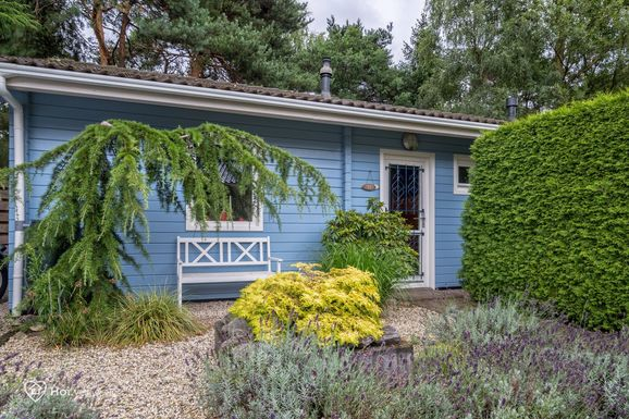 Finse houten bungalow in Ermelo voor max. 4 personen