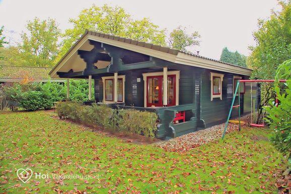 Luxe Finse bungalow in Hulshorst voor max. 6 personen