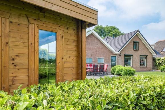 Luxe vakantiehuis in Epe met sauna en jacuzzi voor max. 6 personen