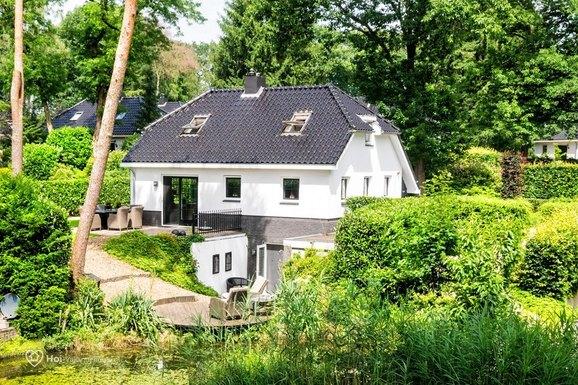 Luxe vakantiehuis in Lunteren met sauna en whirlpool voor max. 6 personen