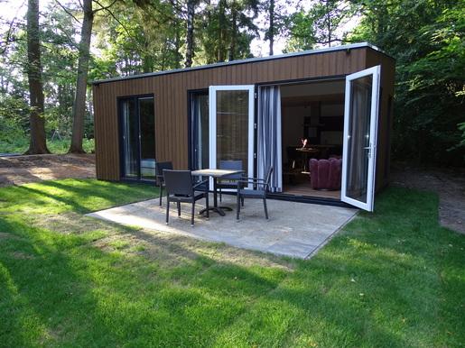 Modern vakantiehuisje in Ermelo voor max. 4 personen