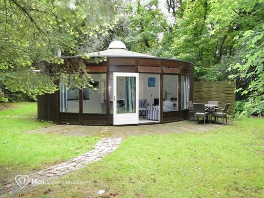 Rond boshuisje in Ermelo voor max. 4 personen
