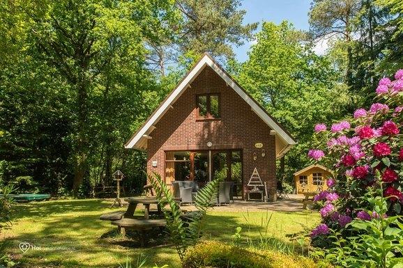 Vakantiehuis het stenen rode vogeltje in Emst op de Veluwe voor max. 6 personen