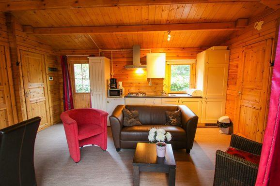 Vakantiehuis in het bos nabij Epe voor max. 4 personen