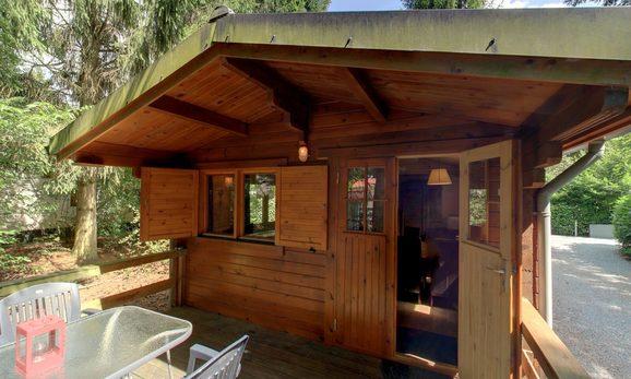Boshuisje in het bos nabij Epe voor max. 4 personen