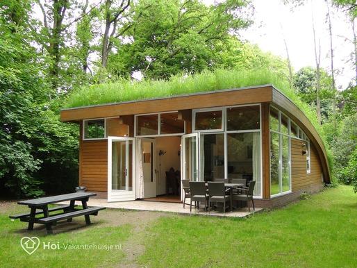 Vakantiehuisje halfrond in Ermelo voor max 6 personen