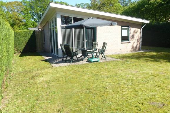 Vakantiehuisje met veel privacy in Putten nabij Voorthuizen voor max. 4 personen